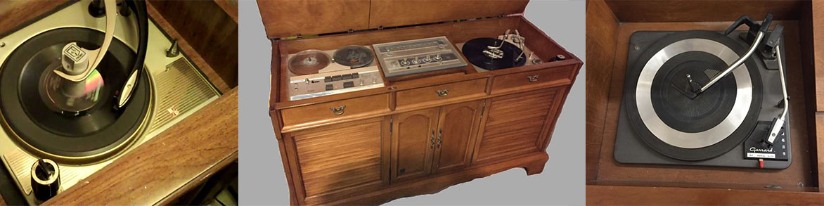 Vintage console stereo & record player repair and service