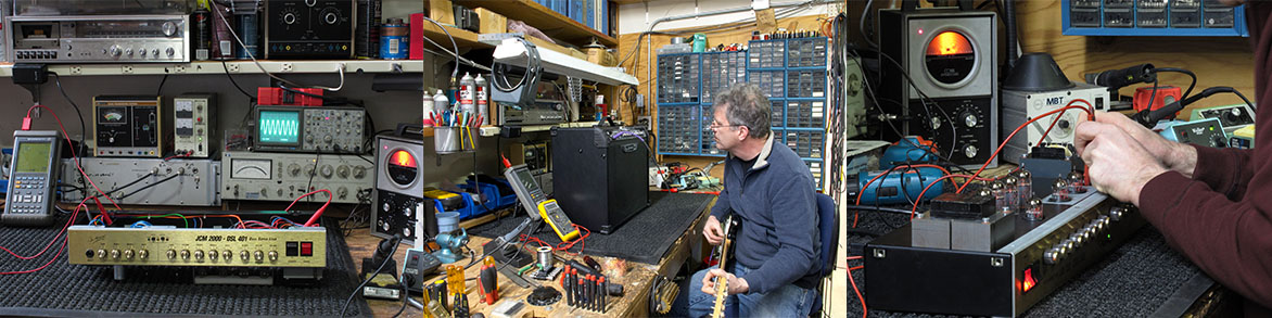 We repair and service other stage gear such as guitar amplifiers, recorders, effects and more!