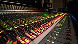 live sound mixing console field repair