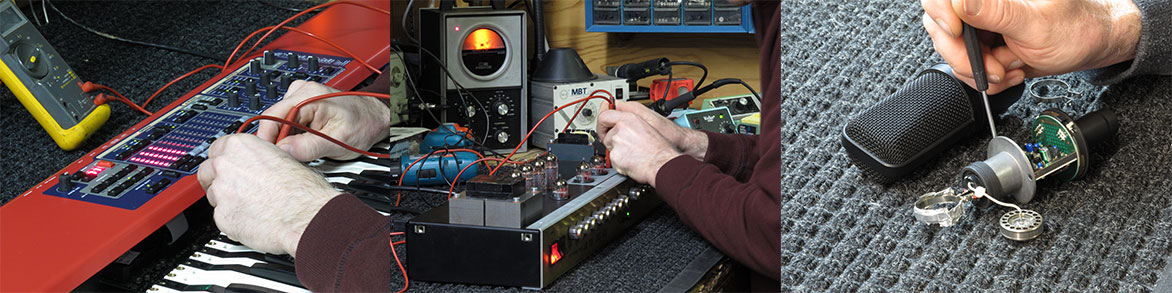 Providing quality repairs on electronic musical gear Since 1981 ... Factory authorized for most brands.