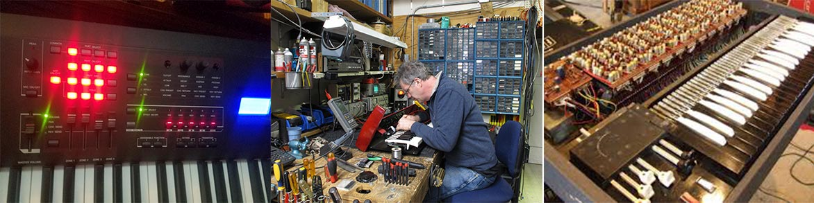 Electronic Repair On All Your Music and Sound Gear