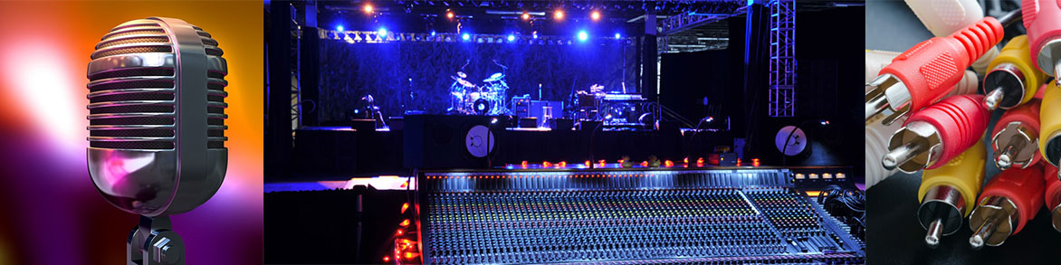 Field repair and service on live sound and stage installations.